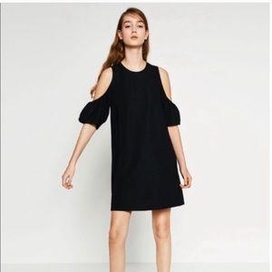 Zara shoulder cut out dress